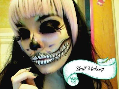 Skull Makeup Tutorial Using Surreal Makeup