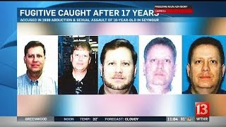 Abduction and sex assault suspect arrested after 17 years