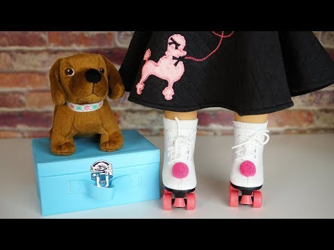 American Girl Maryellen Roller Skating Accessories