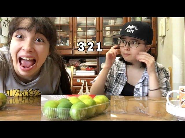 Enjoy Mikan Oranges if you win! デザートタイム!じゃんけんみかん