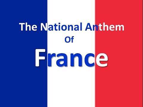 The National Anthem of France Instrumental with Lyrics (La Marseillaise)