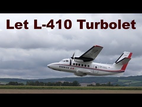 Let L-410 Turbolet, Giant Scale RC Aircraft, 2017