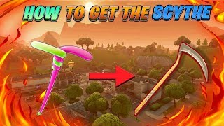 (WITH SCYTHE SOUNDS) HOW TO GET THE SCYTHE FOR FREE IN FORTNITE!!! [STILL WORKING]