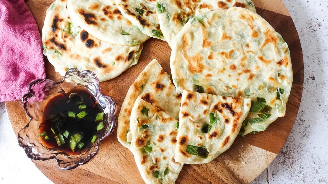 【超簡單食譜】 蔥油餅 |Scallion Pancakes - YouTube