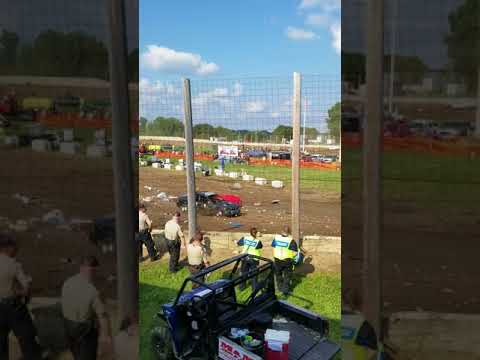 Trailer race dodge county fair