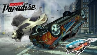 10min of Crashes in Burnout Paradise city