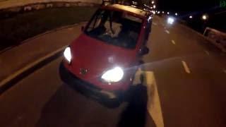 Bajaj Qute Qcar RE60 - Юля в шоке!