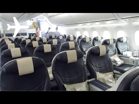 Thomson Airways - TUI - 787-8 Dreamliner Premium Club Review Edinburgh (EDI) - Sanford (SFB)