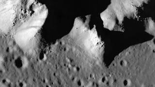 LRO Pan Across Copernicus Crater Central Peak [1080p]