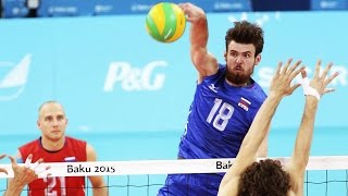 Top 15 Best Volleyball Spikes | Egor Kliuka