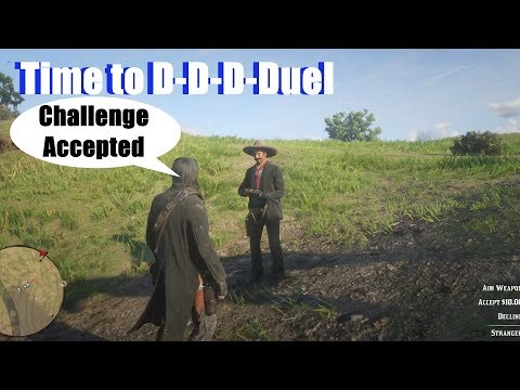 RDR2 Mexican Challenges John Marston To Duel - Red Dead Redemption 2 PS4 Pro