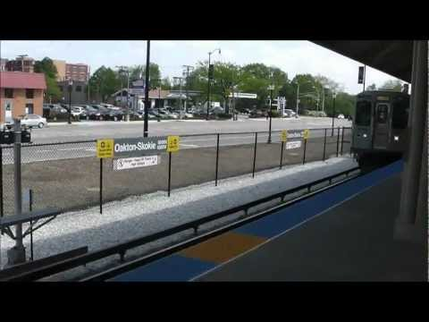 CTA 'L': New Oakton-Skokie Station, Yellow Line/Skokie Swift, 05.03.12
