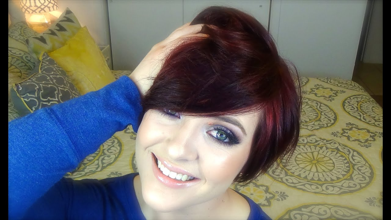 Growing Out My Pixie Month 4 Youtube
