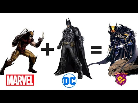 Amalgam characters of DC and Marvel (Part 1) || DC or MARVEL