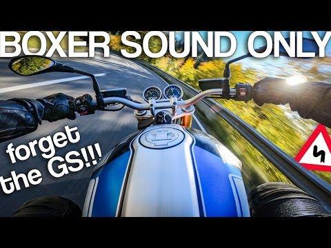 BEST BOXER SOUND - BMW R NineT sound [RAW Onboard]