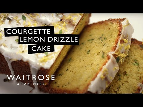Courgette Lemon Drizzle Cake | Waitrose