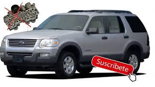 Ford explorer 2002 al 10 daño de solenoide transmision