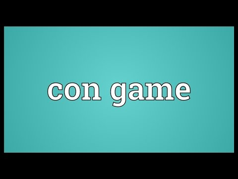 Header of con game