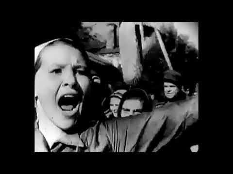 Кинохроники СССР. Освобождение Брянска 17  сентября 1943 года. Киножурнал.