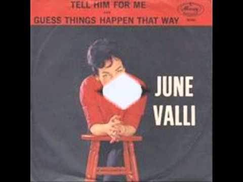 June Valli - Guess Things Happen That Way - 1961