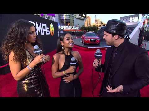 Christina Milian Red Carpet Interview - AMAs 2014