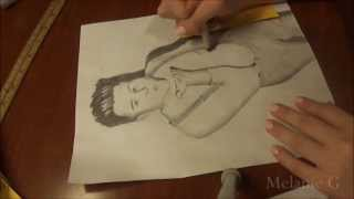 Drawing Olly Murs (Time Lapse)