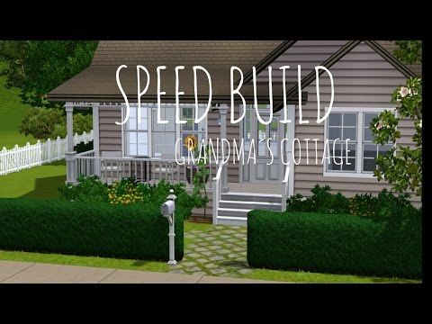 The Sims 3: Speed Build - Grandma´s Cottage