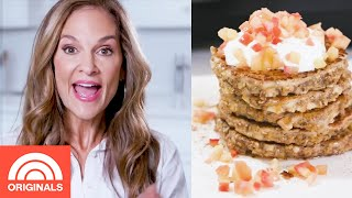 Joy Bauer's Protein-Packed Apple Pancakes | Joy Full Eats | TODAY