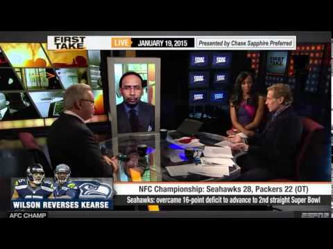 ESPN First Take   Seahawks beat Packers   Doug Baldwin Goes off on Doubters   Ron Jaworski 1 19 15