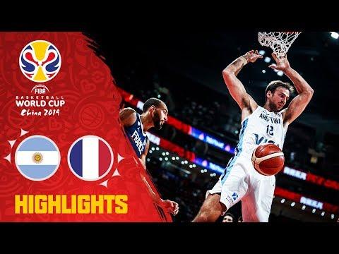 Argentina v France - Highlights - Semi-Final - FIBA Basketball World Cup 2019