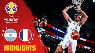Argentina v France - Highlights - Semi-Final - FIBA Basketball World Cup 2019