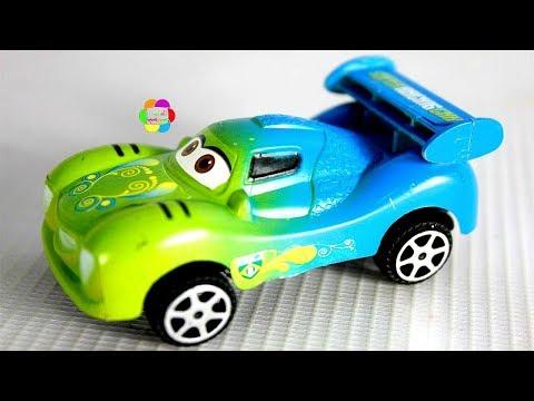 لعبة العربيات الشقية الجديدة للاطفال اجمل العاب سباق السيارات للبنات والاولاد racing car toys game