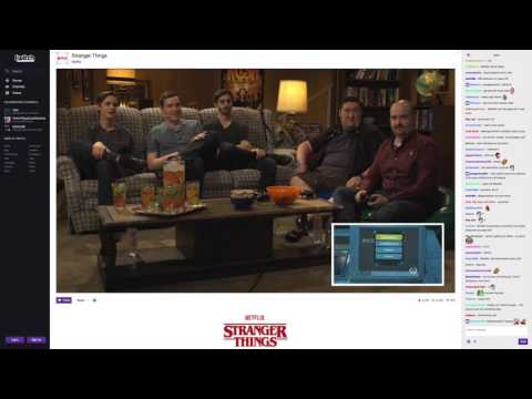 Twitch Netflix Stranger Things Wrap No Stats August 2016
