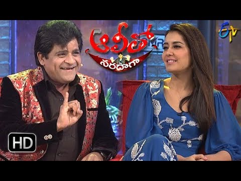 Alitho Saradaga| 19th  March 2018| Rashi Khanna | ETV Telugu