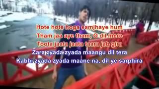 Ishq Wala Love Karaoke(Audacity)