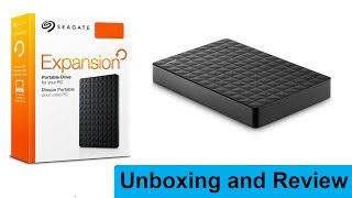 Seagate Expansion 1.5 TB Hard Drive | Unboxing and Review