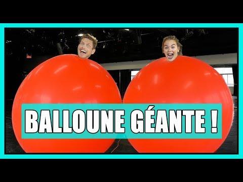 DÉFI BALLOUNE GÉANTE! ( Giant balloon challenge) // P.O et Marina