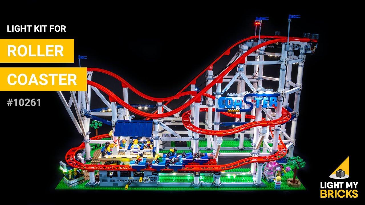 Lego Roller Coaster 10261 Light Kit Light My Bricks Youtube