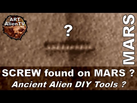 SCREW or WORM on MARS ? LASER HOLES ACTUALLY - ArtAlienTV - 1080p60