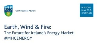 Earth, Wind & Fire: The Future for Ireland