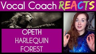 Vocal Coach reacts to Opeth - Harlequin Forest at The Royal Albert Hall
