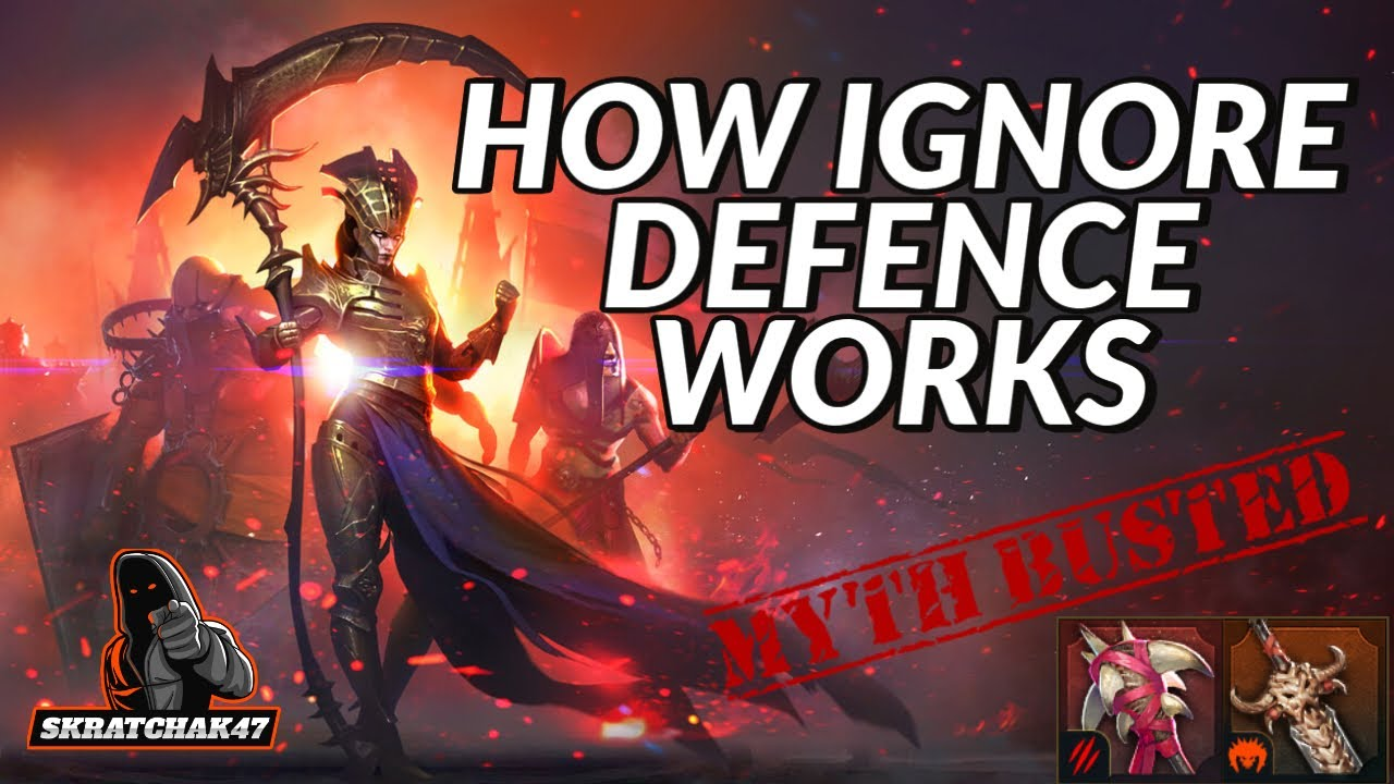 How Ignore Defence Works | Mythbuster | Raid: Shadow Legends