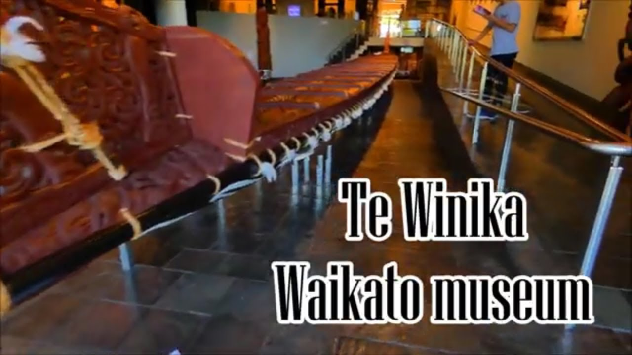 Te Winika, Waikato museum, Hamilton city, New Zealand