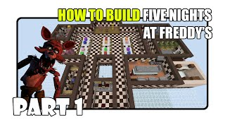 How To Build Five Nights at Freddy