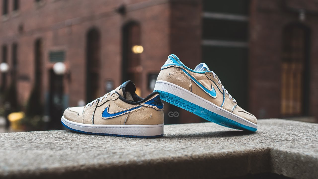 lineal De Dios algodón  Nike SB x Air Jordan 1 Low