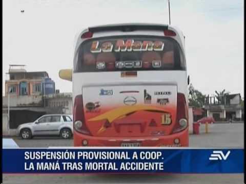 En vigencia suspensión temporal de cooperativa de transportes La Maná