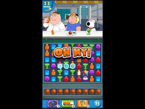 Family Guy Another Freakin Mobile Game Level 537 - NO BOOSTERS