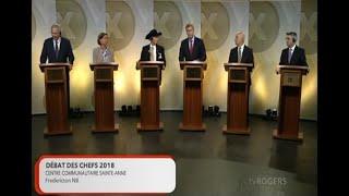 Le débat des chefs - vendredi 14 septembre 2018