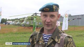 Прыжками с парашютом отмечают День ВДВ в Вологодском районе