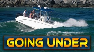 BOATS BATTLE ROUGH WAVES AT HAULOVER INLET!! YouTube Videos